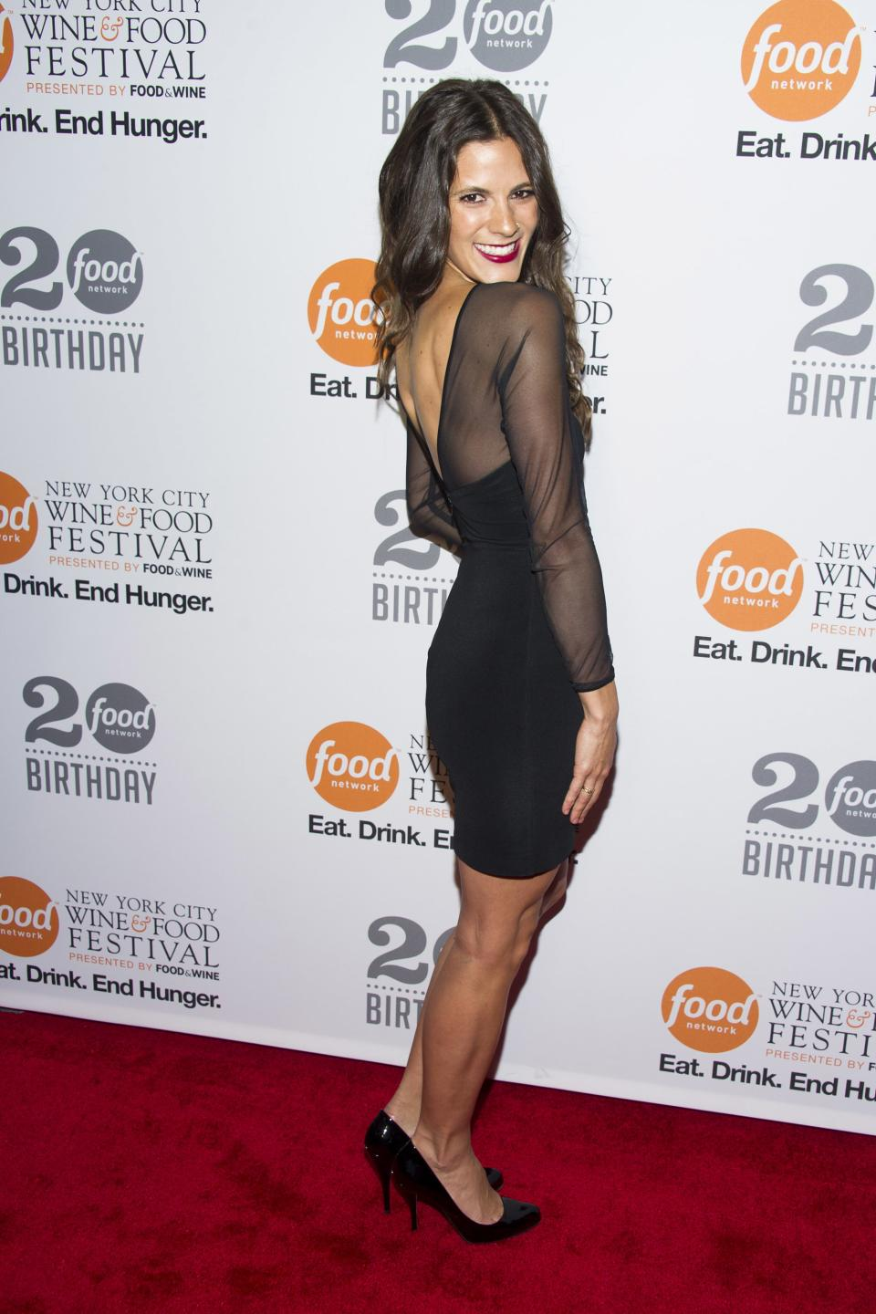 Eden Grinshpan attends the Food Network's 20th birthday party on Thursday, Oct. 17, 2013, in New York. (Photo by Charles Sykes/Invision/AP)