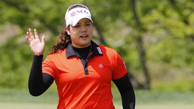 Ariya Jutanugarn of Thailand at the Kingsmill Championship at Kingsmill Resort (AFP)