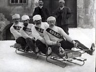 Bobsled from 1910