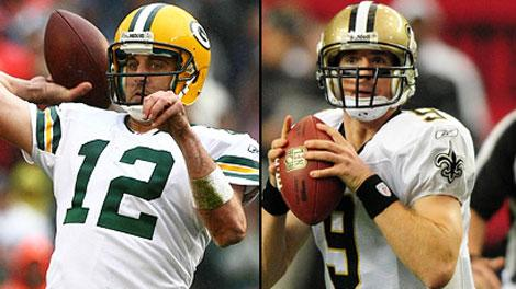 Packers and Saints