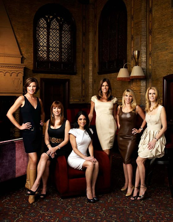 The cast of The Real Housewives of New York City.