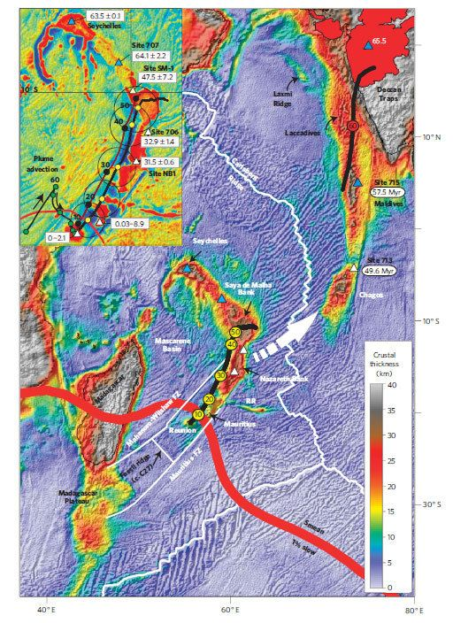 micro-continent - Ancient 'Micro-Continent' Found Under Indian Ocean - Science and Research