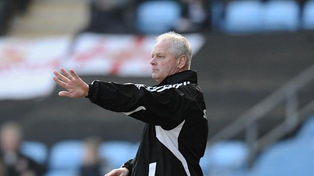 Kevin MacDonald was denied a first home win as Swindon manager at the death