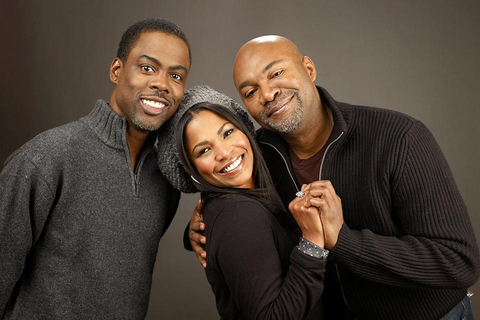 Sundance Film Festival Portraits 2009 Chris Rock Nia Long Nelson George