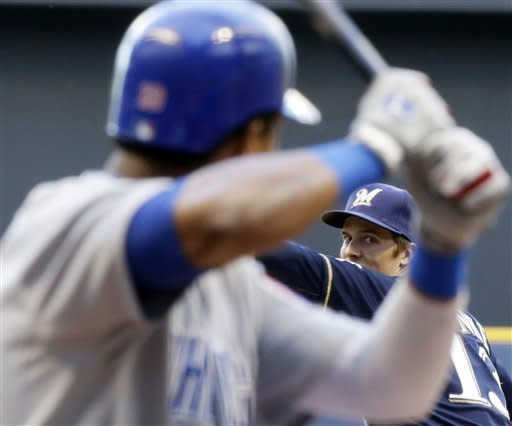 Greinke strikes out 12, Brewers beat Cubs 8-0