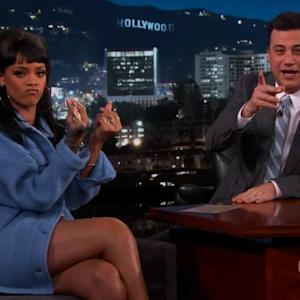 Rihanna Pranks Kimmel for April Fools' Day