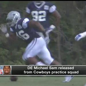 Judy Battista on defensive end Michael Sam's release from Dallas Cowboys