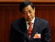 China's state media say the Communist Party has put on a forceful display of unity by expelling Bo Xilai, seen here in March 2012, but web users have denounced the case as a sign of deep-rooted corruption plaguing the ruling party