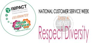 National Customer Service Week: The HEART Model, Principle #4 image ncsw day4