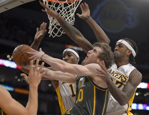 Jazz beat Lakers 117-110 for 3rd straight victory