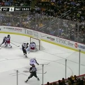 Curtis McElhinney Save on Patric Hornqvist (04:29/3rd)