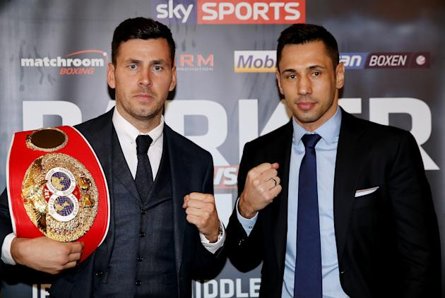 Darren Barker and Felix Sturm Press Conference