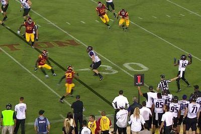 Washington has USC on upset alert thanks to majestic double pass TD
