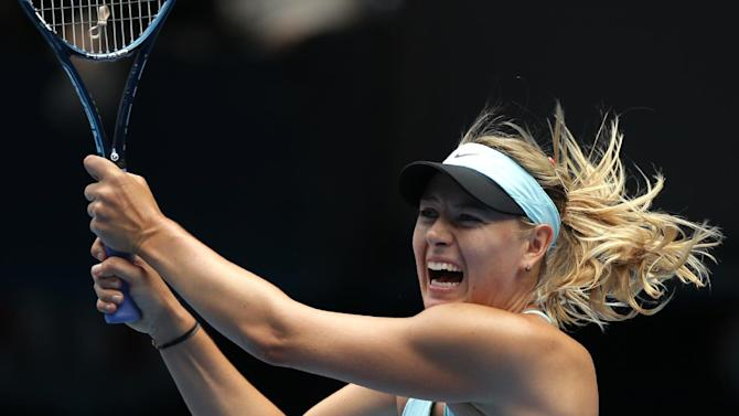 Sharapova out; Nadal, Murray win tough matches