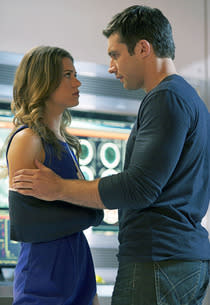 Lyndsy Fonseca and Dillon Casey | Photo Credits: Sven Frenzel/The CW