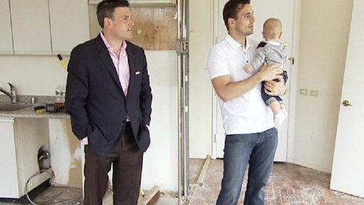 Bill Rancic and Baby Duke Visit NYC
