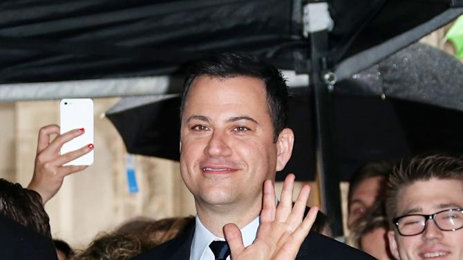 Jimmy Kimmel Honored On The Hollywood Walk Of Fame