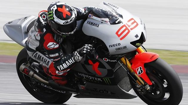 Yamaha MotoGP rider Jorge Lorenzo of Spain (Reuters)
