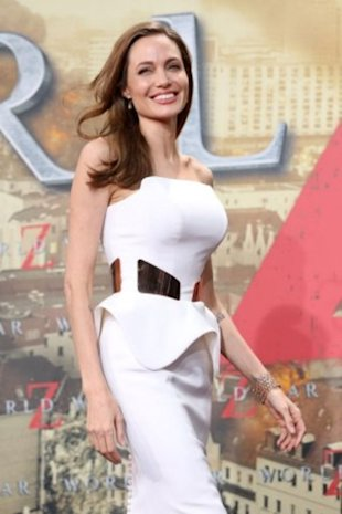 Angelina Jolie, highest paid actress in Hollywood