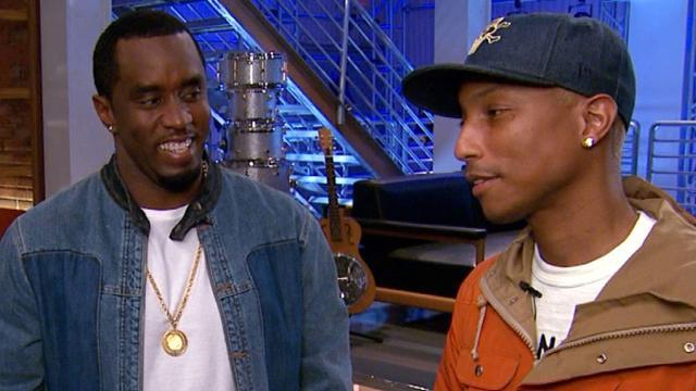 EXCLUSIVE: Pharrell Williams Comes Full Circle as Personal Mentor Sean Combs Joins 'The Voice'