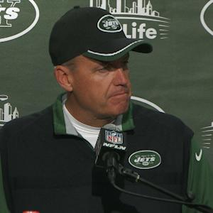 New York Jets head coach Rex Ryan on quarterback situation: 'I have no idea'