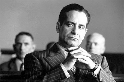 Tony Shalhoub as Freddy Riedenschneider in USA Films' The Man Who Wasn't There