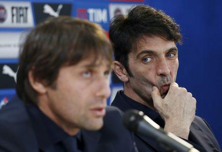 Football soccer - Italy news conference
