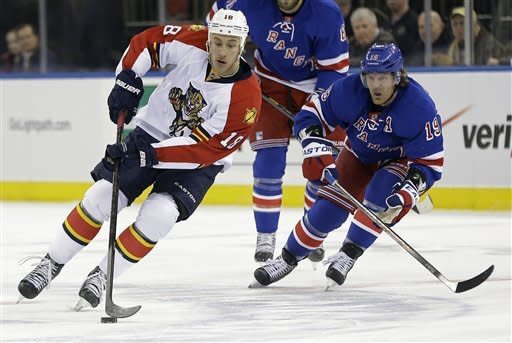 Markstrom, Panthers stop Rangers 3-1