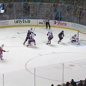Kevin Poulin Save on Nicolas Deslauriers (18:43/3rd)