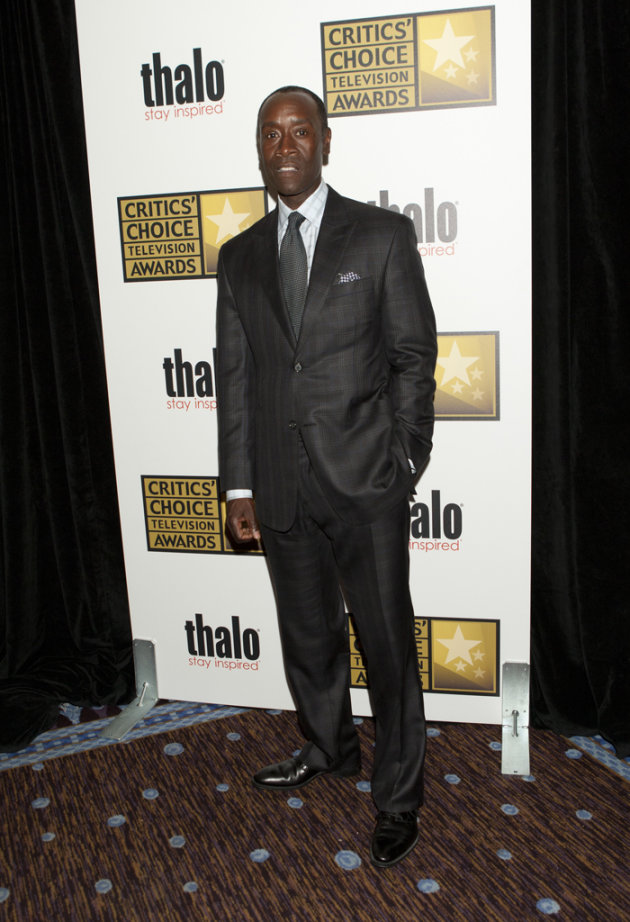 Don Cheadle at the 2012 Critics' Choice Awards