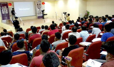 Student participation for Tech Talks at IIT-M Hack U event