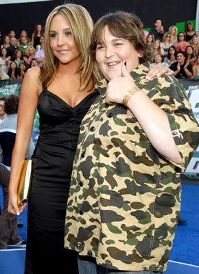 Amanda Bynes and Andy Milonakis