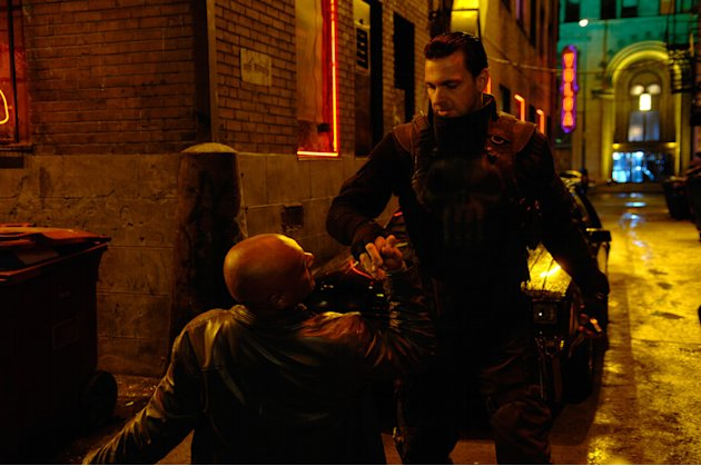 Ray Stevenson Colin Salmon Punisher: War Zone Production Stills Lionsgate 2008