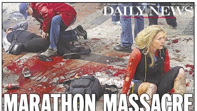'Daily News' Doctored Its Front-Page Photo from Boston Bombing