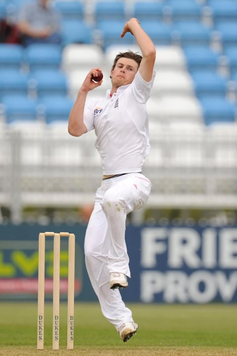 James Harris claimed six wickets on the first day against Australia A