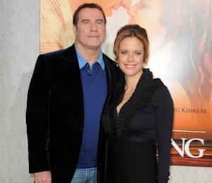 John Travolta and Kelly Preston arrive at 'The Last Song' premiere, ArcLight Hollywood, March 26, 2010 -- Getty Images