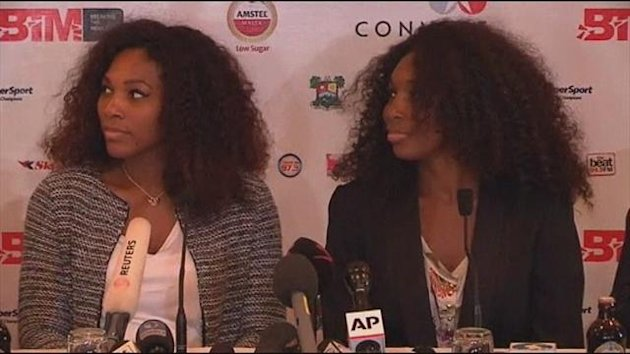 1031 ITW: Williams sisters back women's rights in Africa