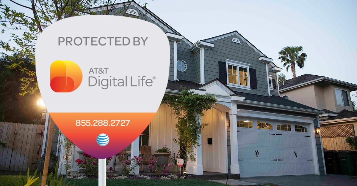 Move into a protected home with AT&T Digital Life