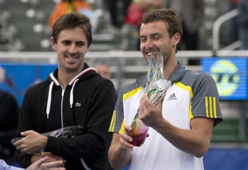 Gulbis wins second Delray Beach title