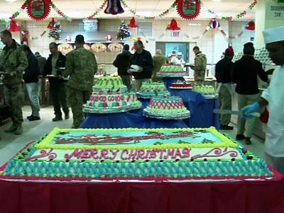 Raw: Troops Celebrate Christmas in Afghanistan