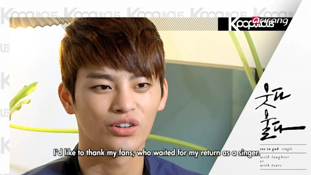 Pops in Seoul : Seo In-guk (With Laughter or with Tears)