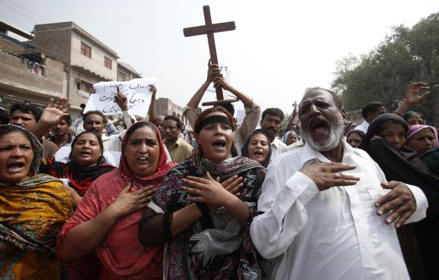 Suicide attack on Pakistani church
