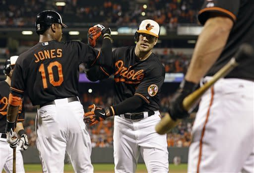 Tillman, Flaherty carry Orioles over Red Sox 9-1
