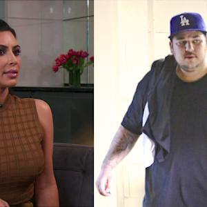 Kim Kardashian On Rob's Struggles