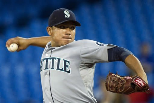 Seager homers as Mariners beat Blue Jays 4-3