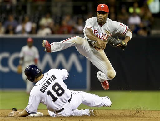 Brown, Kendrick lead Phillies past Padres, 6-2