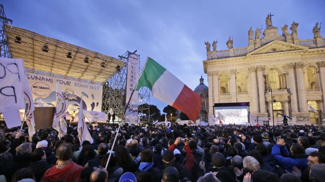 Italians vote in parliamentary elections