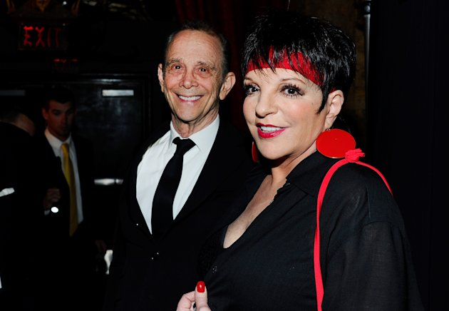 HOLLYWOOD, CA - APRIL 12:  Actors Joel Grey (L) and Liza Minnelli attends the TCM Classic Film Festival opening night premiere of the 40th anniversary restoration of &quot;Cabaret&quot; at Grauman&#39;s Chinese Theatre on April 12, 2012 in Hollywood, California.  (Photo by Alberto E. Rodriguez/Getty Images)
