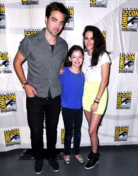 PIC: Rob Pattinson, Kristen Stewart Hit Comic-Con With Twilight