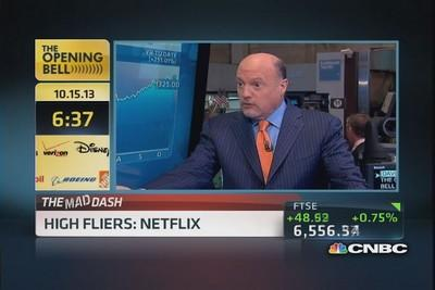 Cramer's Mad Dash: Netflix in the picture